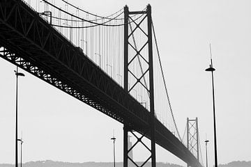 PORTUGAL ... Lissabon - Brücke des 25 April I von Meleah Fotografie
