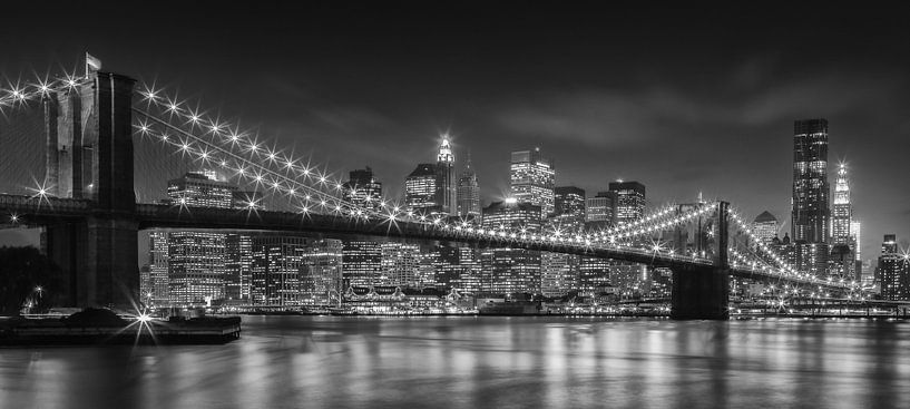 Brooklyn Bridge, New York City von Henk Meijer Photography