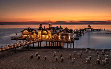 Lever de soleil sur l'île de Rügen sur Achim Thomae