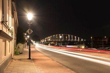 Nachtfotografie aan de IJssel bij Deventer  von Berly Damman