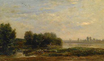 Sur l'Oise, Charles-François Daubigny