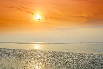 Glänzendes Nordsee Watt van Ursula Reins