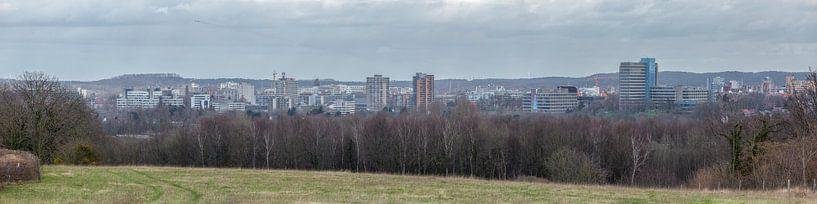 Panorama skyline Heerlen van John Kreukniet