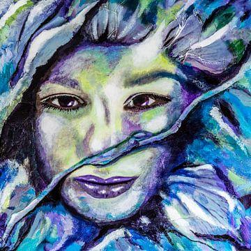 Flowerfairy van Lida Bruinen