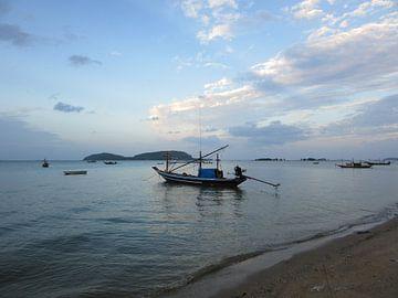 Fischerboot - Thailand von Fotograaf Jelle