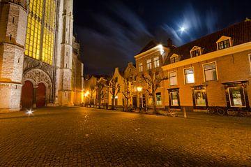 Kerkplein Hooglandsekerk van Remco Swiers