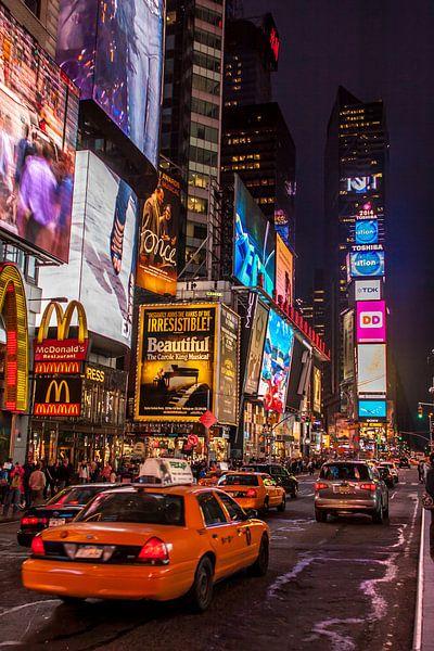 New York Times by night van Stefan Verheij