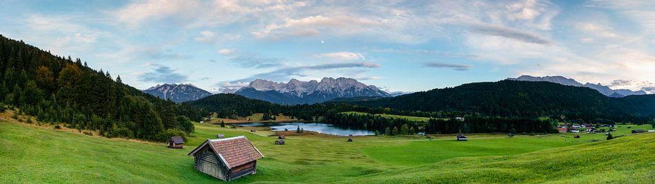 Panorama Geroldsee van Sander Poppe