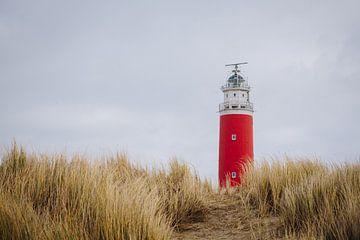 Foto van de vuurtoren van Texel in de Waddenzee, Wadden wereld erfgoed | Nederlandse reisfotografie van Evelien Lodewijks