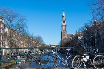 Westertoren Amsterdam van Peter Bartelings Photography