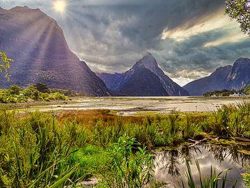 Milford Sound Neuseeland von Greet Thijs