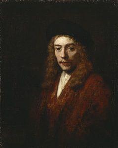 Ein junger Mann, vielleicht der Sohn des Künstlers Titus, Rembrandt van Rijn.