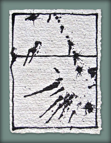 Inkt Abstract van Kuba Bartyński