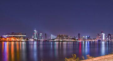 De complete skyline van Rotterdam by Rawbirdphotos Wouter Putter van Rawbird Photo's Wouter Putter