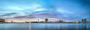 Rotterdam: Coucher de Soleil chez la Rivière sur Frans Blok