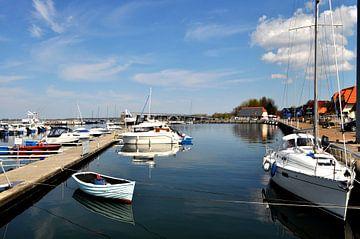Marina Wiek, Yachthafen Wiek, Rügen von GH Foto & Artdesign
