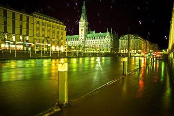 inondation à hambourg sur Stefan Havadi-Nagy