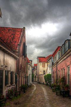 Muurhuizen historisch Amersfoort von Watze D. de Haan