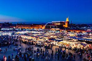 Djemaa el Fna - Marrakesh van