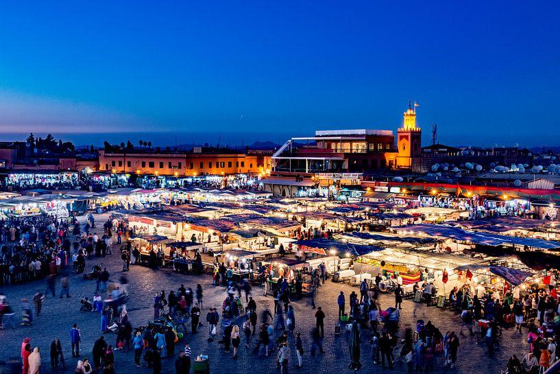 Djemaa el Fna - Marrakesh van Ton de Koning