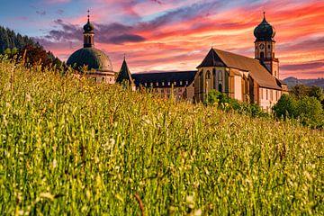 Das Benediktinerkloster St. Trudpert im Münstertal im Schwarzwald von PhotoArt Thomas Klee