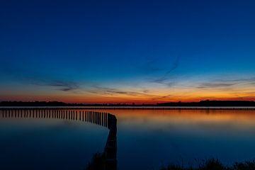 Avond aan het Veerse Meer van Twan Aarts