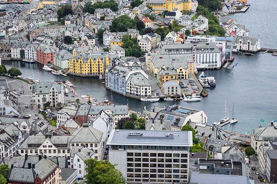 Alesund in Norway van Rico Ködder