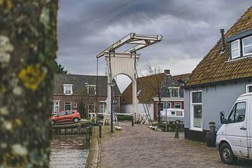 Vlietsterbrug in Franeker van Steven Otter