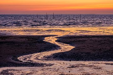 Strand Rockanje, Zeeland van Eddy Westdijk