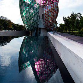 Paris Architecture - Fondation Louis Vuitton sur Marianne van der Zee