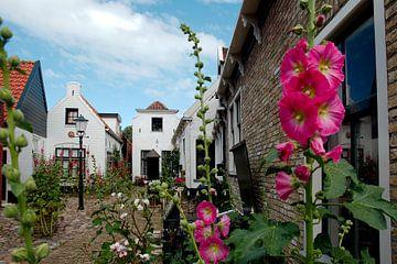 Hofje Weverstraat Den Burg, Texel van Wim van der Geest