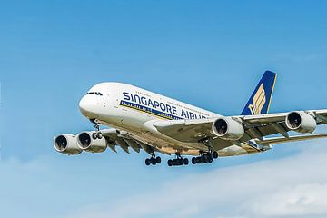 Singapore Airlines Airbus A380 van Gert Hilbink