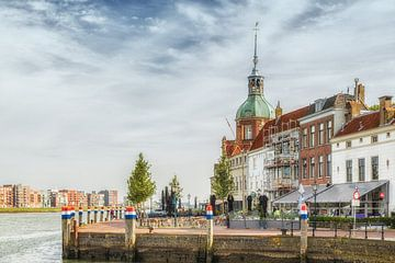 Groothoofd, de kop van het historische centrum van Dordrecht von Fotografie Jeronimo