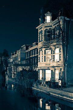 Nachtlandschap Den Haag van Raoul Suermondt