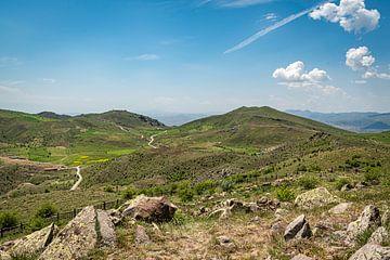 vergezicht in de turkse bergen van Roland's Foto's