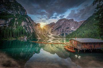 Lago di Braies van Dennis Donders