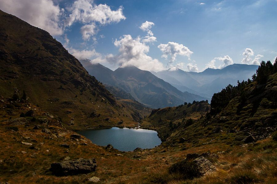 De Andorraanse Pyreneeën