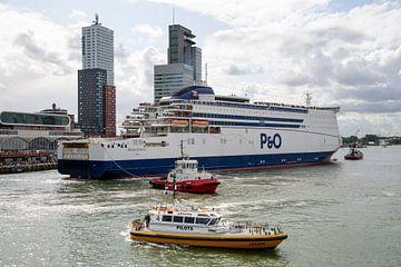 P&O Ferries boot in Rotterdamse haven van Bram de Muijnck