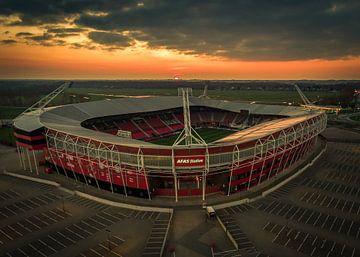 Afas Stadion Alkmaar van