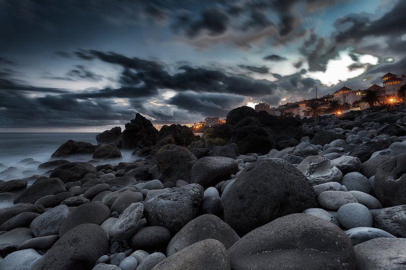 Madeira Sunset van Rob van der Teen