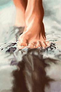 Auf dem Wasser gehen