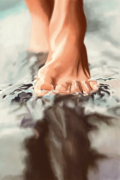 Auf dem Wasser gehen von Kim Verhoef
