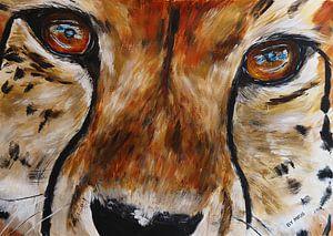 Porträt eines Geparden von Eye to Eye Xperience By Mris & Fred
