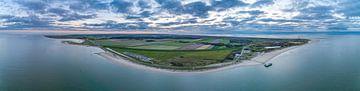 Texel vanuit de lucht van Texel360Fotografie Richard Heerschap