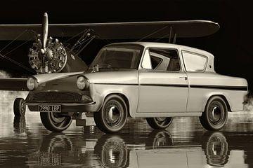 Der Ford Anglia123E Deluxe - ein klassisches Performance-Auto