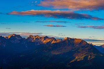 Sonnenaufgang am Fellhorn von Walter G. Allgöwer
