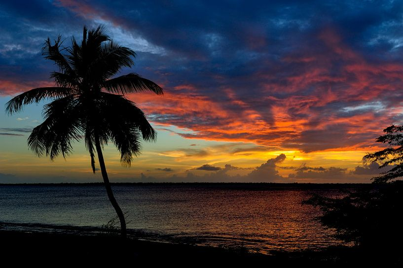 Bonaire Sunset Beach van M DH