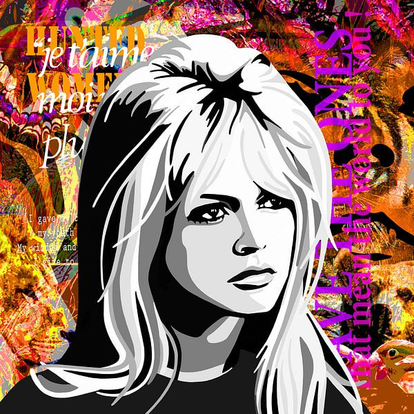 Brigitte Bardot van Jole Art (Annejole Jacobs - de Jongh)