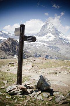 Road to Zermatt von Manuel Meewezen