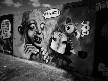 Berlijnse muur van Iritxu Photography